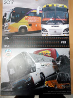 Photo of Mombasa-Bound Buses 2017 Calendars Release