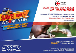 Photo of Save Ksh 500 And Save A Life When You Book With Modern Coast