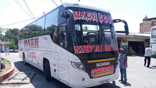 Photo of Mash East Africa Scania Touring Bus alias Mash Turismo