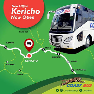 Photo of Coast Bus Officially Launches Its New Office In Kericho Town