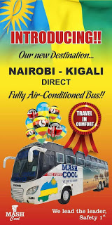Photo of Mash EA Introduces Its New Route To Kigali With Fully A/C Buses