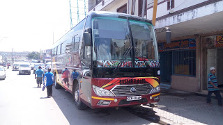 Photo of Inside Palmers Coach KCM 864H Yutong, Nairobi – Mombasa