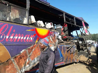 Photo of Climax Bus Heading To Nairobi Involved In a Grisly Accident Killing 11 People