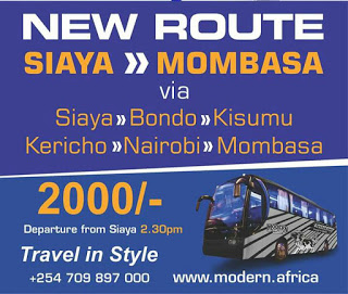 Photo of Modern Coast To Launch Its New Mombasa – Siaya Route