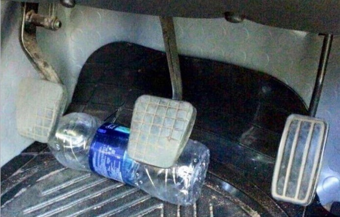 Photo of The Risks Associated With Water Bottles In The Car