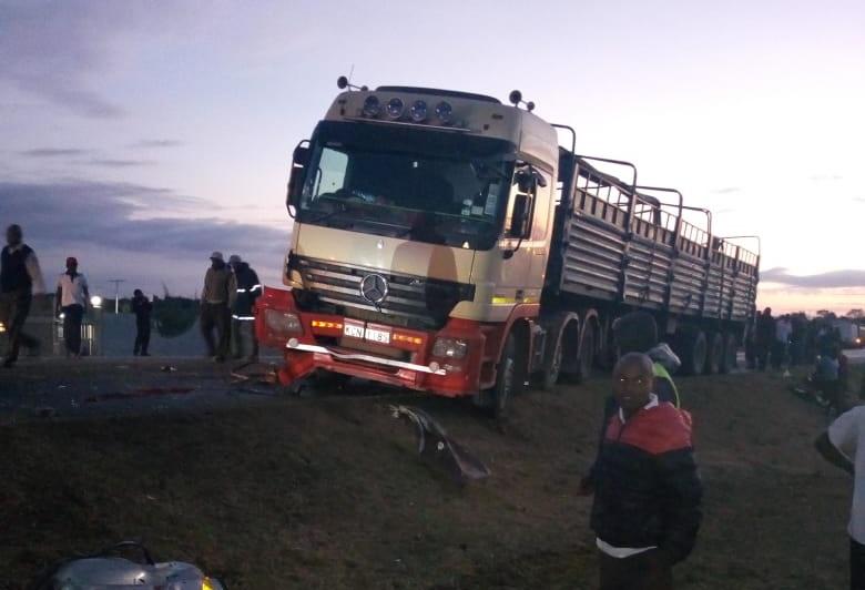 Photo of 14 People Perish In Matuu Road Accident