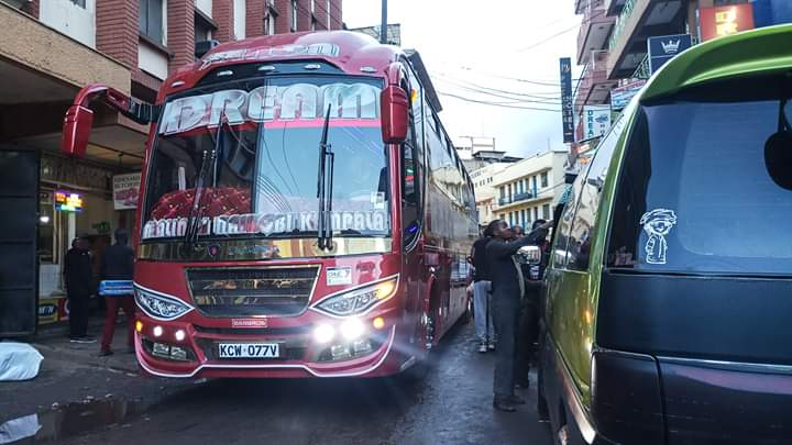 Photo of Dreamline Latest KCW 077V Bus Starts Its Operation To Mombasa