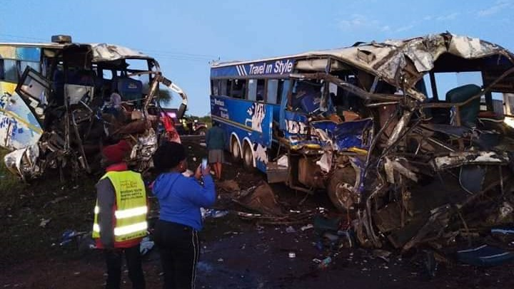 Photo of 5 Dead While 62 Injured As Modern Coast Buses Collide